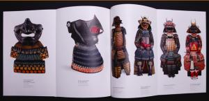 """Dépliants intérieurs du livre """"Samouraï 1000 ans d'histoire du Japon"""""""