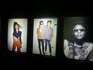 Panneaux photos d'artistes des Transmusicales 2015